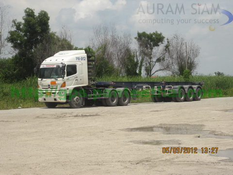 Hino 500 NGV with GPS Tracer