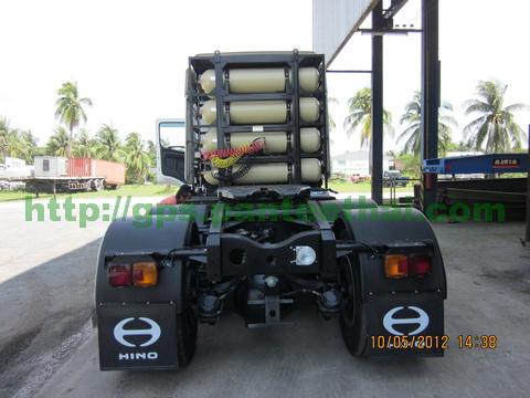 Hino 500 NGV and GPS Tracker