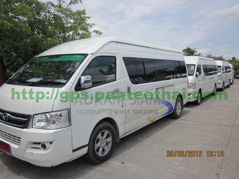 Joylong van with GPS Tracker