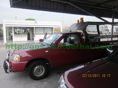 Nissan pickup with gps tracker