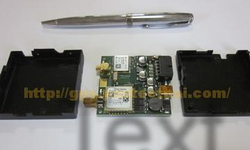 รูปภายในของ GPS Tracker รุ่น FM1100
